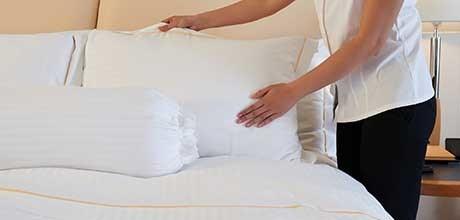 quality guest linen clean laundry service