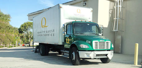 southwest florida linen company delivery pickup