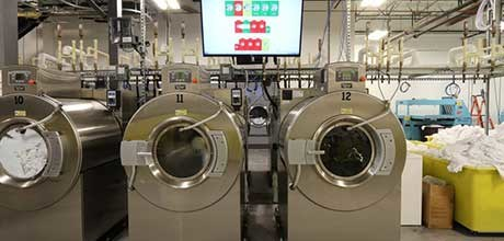 linen companies commercial washers laundry services